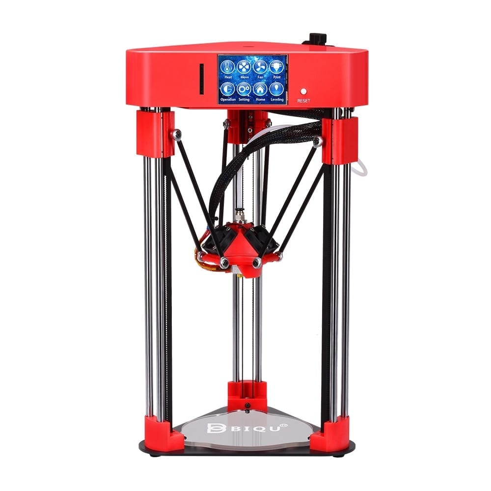 IQU 3D printer BIQU Magician High precision Mini kossel Desktop impressora Fully Assembly with Power off