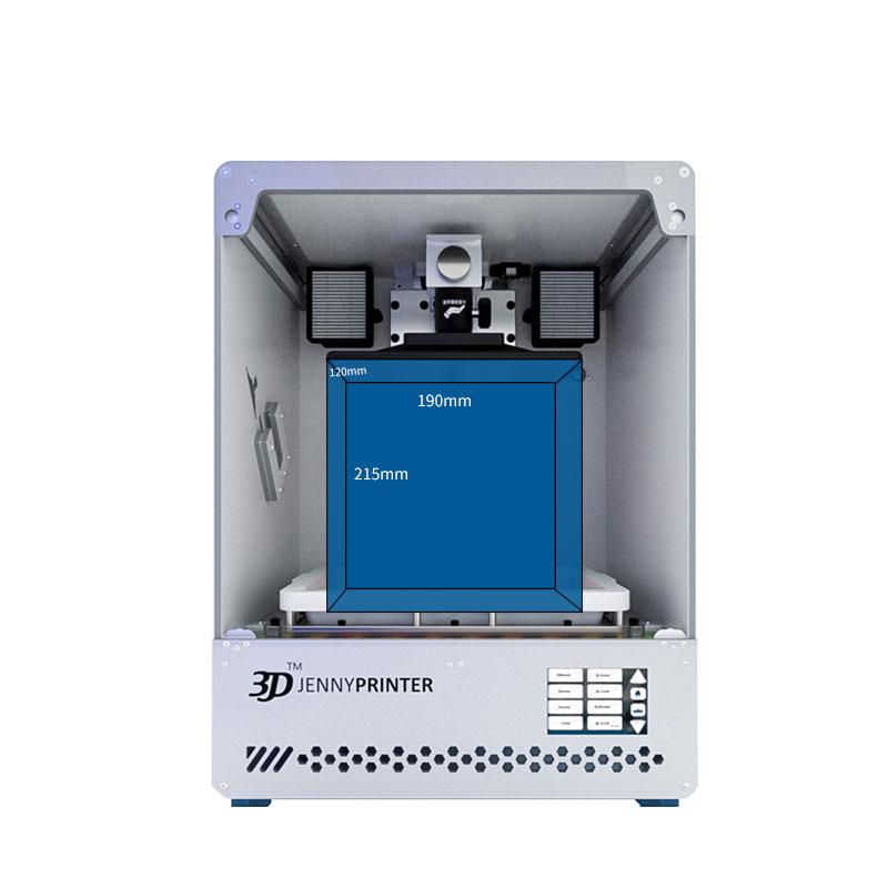 3d jenny printer lcd light curing 3d printer