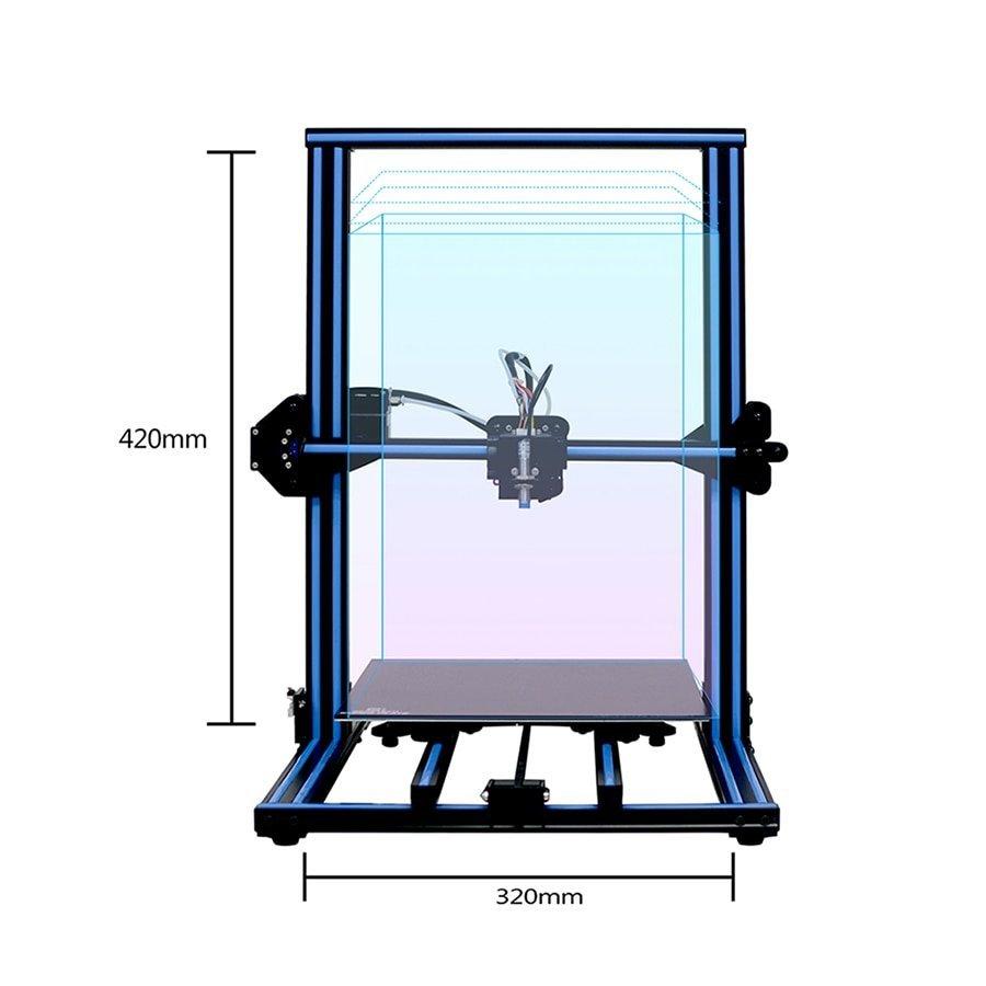 2019 CE FCC Kelant Orbeat D100 sla 3d printer UV LED assembled touch screen 2k