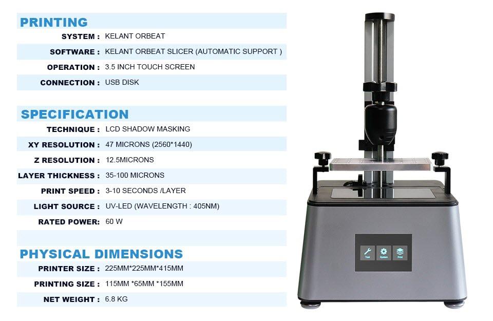 kelant orbeat 3D Printer