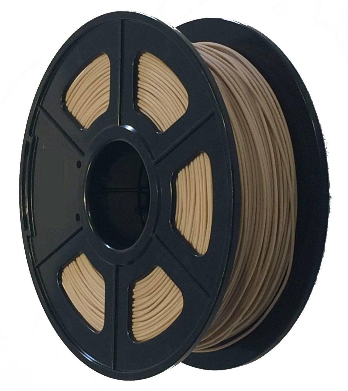 Wood PLA 1KG 1.75mm Natural Filament CCDIY Supplier Australia