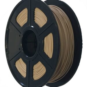 Wood PLA 1KG 1.75mm Natural Filament CCDIY Supplier Australia
